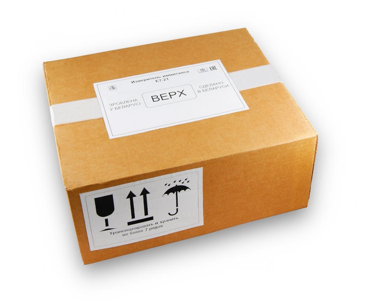 Упаковка Е7-21