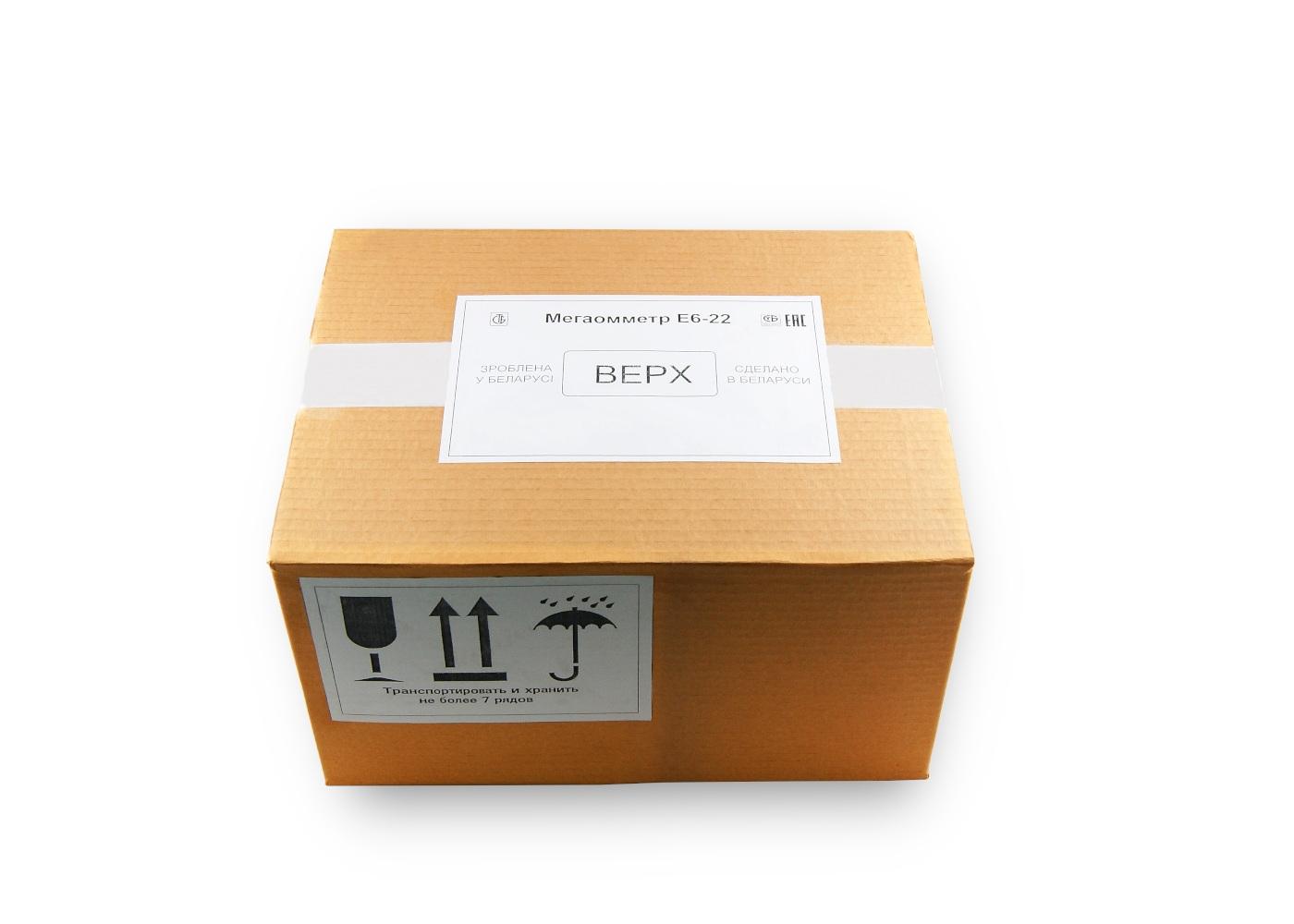 Упаковка Е6-22