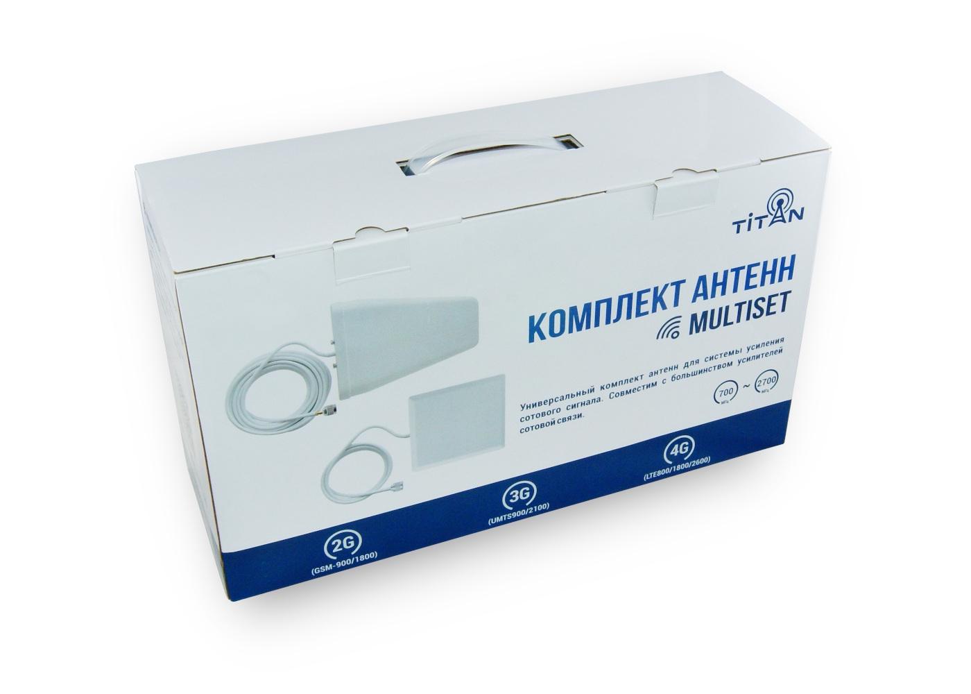 Упаковка для комплекта антенн Titan MultiSet