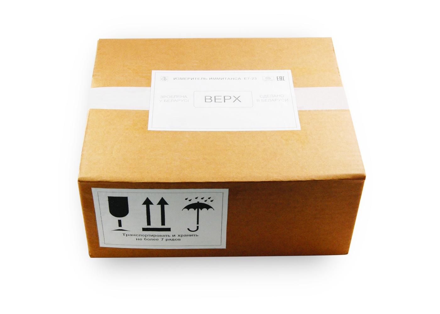 Упаковка для Е7-23