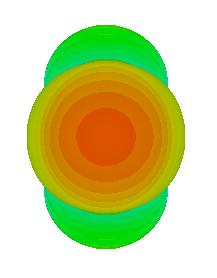 Антенны измерительные рупорные MDA-50, MDA-75, MDA-110 Диаграмма направленности MDA-110