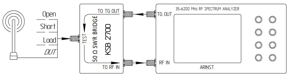 Подключение устройства KSB 2700