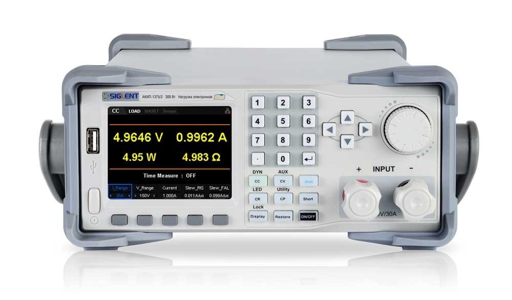Нагрузка электронная АКИП-1375/2Е