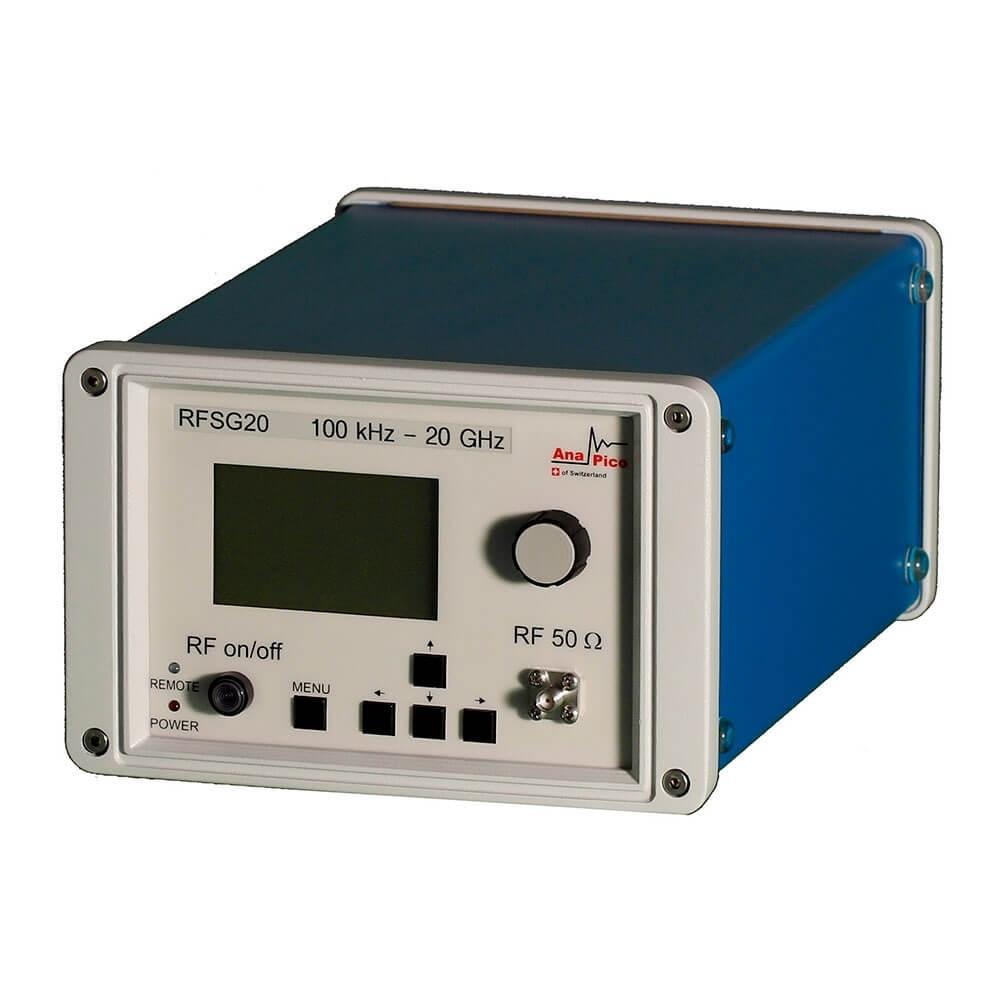 Генератор AnaPico RFSG20 в базовом исполнении, без опции сенсорного экрана