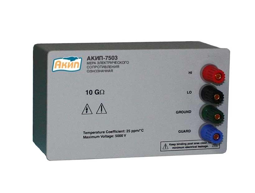 АКИП-7503-10ГОм