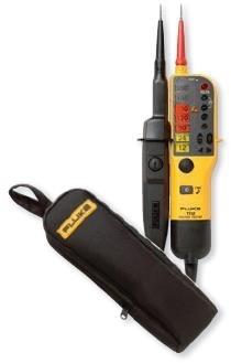Тестеры напряжения и целостности цепи Fluke T110, T130, T150 (а также их вариант VDE) в комплекте с сумкой Fluke C150