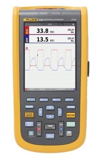 Промышленный осциллограф-мультиметр Fluke 123B/EU